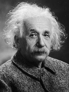 [Albert Einstein]