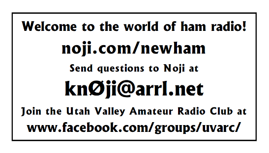 Noji's NewHam Card