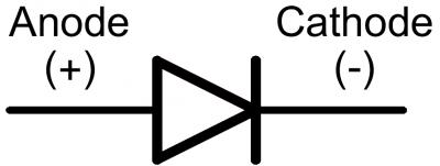 [Diode Symbol]
