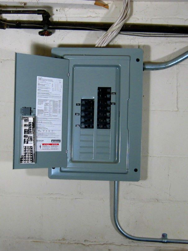 [Electrical Service Panel]