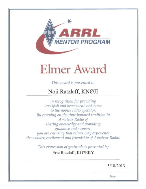 [Elmer Award]
