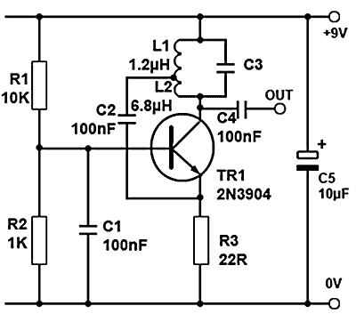 [Hartley Oscillator Circuit]