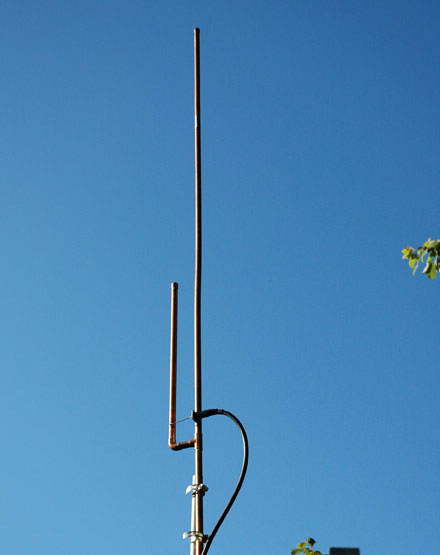 [Copper J-Pole Antenna]