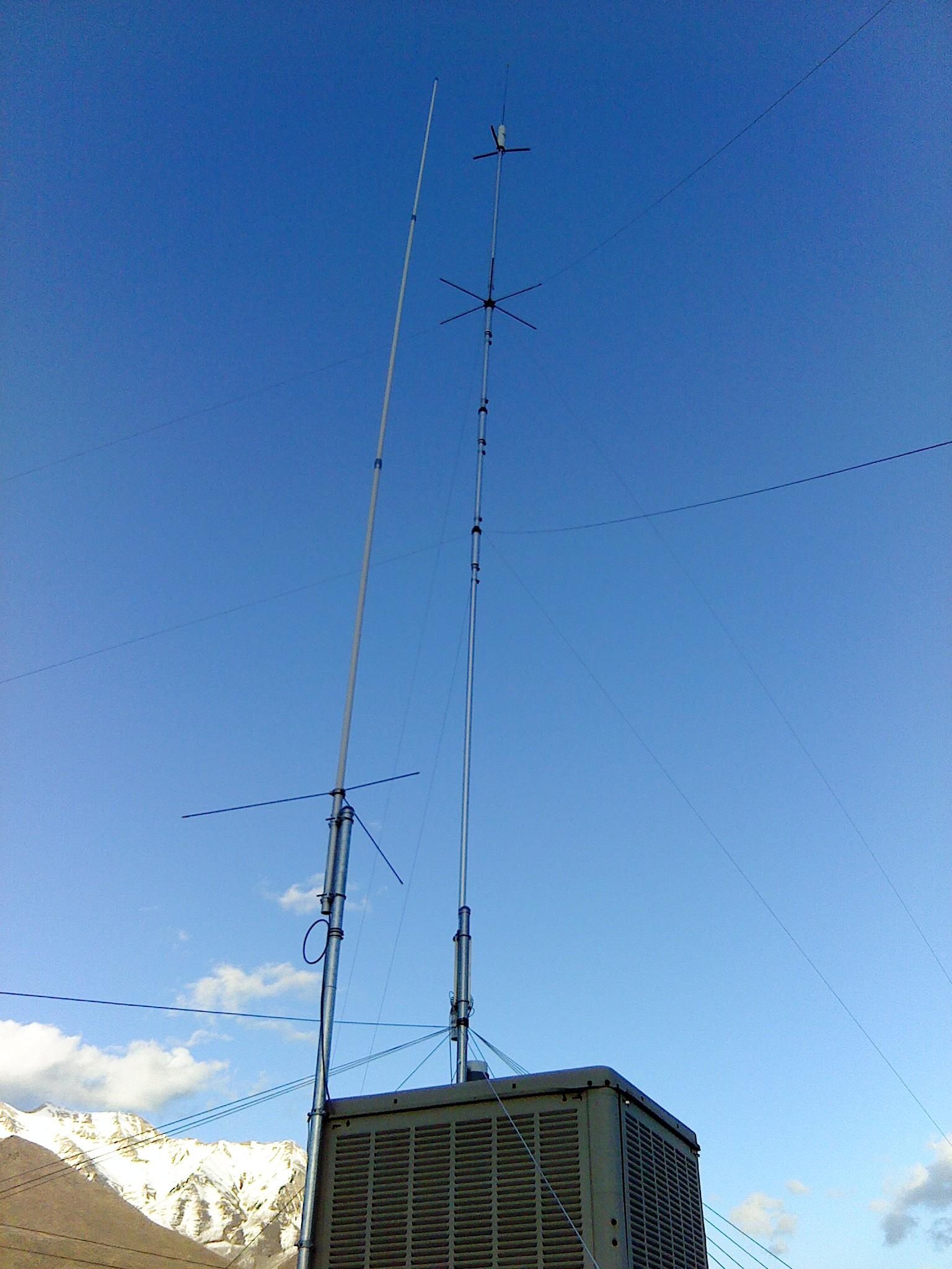 [Antennas Skyward]