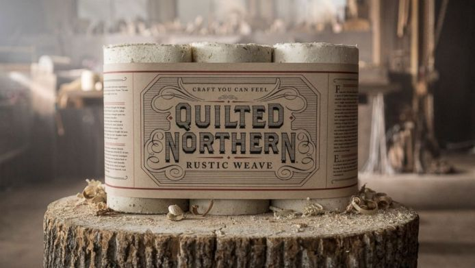 [Quilted Northern Rustic Weave]