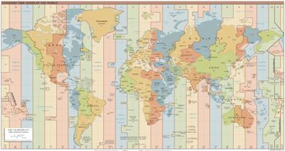 [Standard World Time Zones]